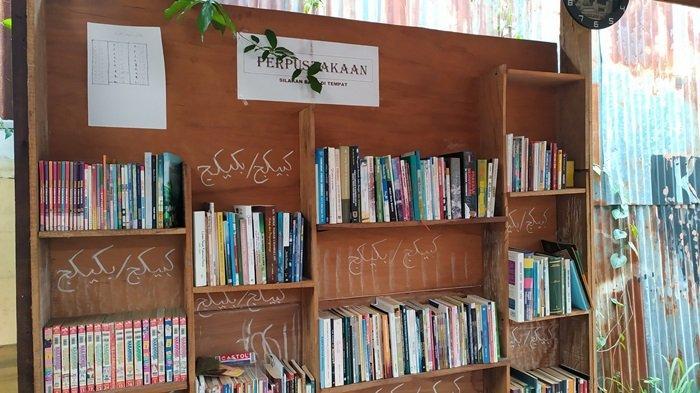 KalselPedia - Kampung Buku Banjarmasin, Miliki Perpustakaan Gratis