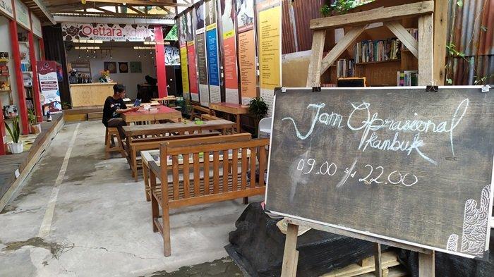 KalselPedia - Kampung Buku Banjarmasin, Tempat Literasi Modern di Jalan Sultan Adam Kota Banjarmasin
