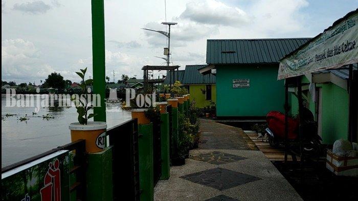Tak Hanya dari Sungai, Kampung Hijau Banjarmasin Kalsel Juga Bisa Didatangi  dari Jalur Darat