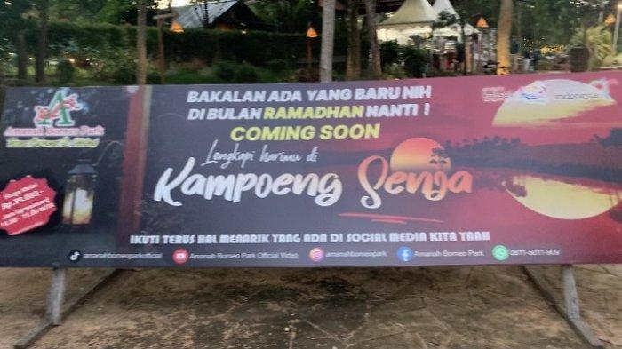 Ada Paket Berbuka Puasa Bersama Anak Yatim di Kampung Senja Amanah Borneo Park, Segini Tarifnya