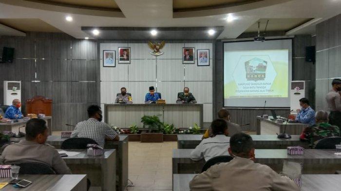 Pemkab HST Bentuk Kampung Tangguh Siaga Covid-19, Desa Batu Tangga Dipilih Jadi Percontohan