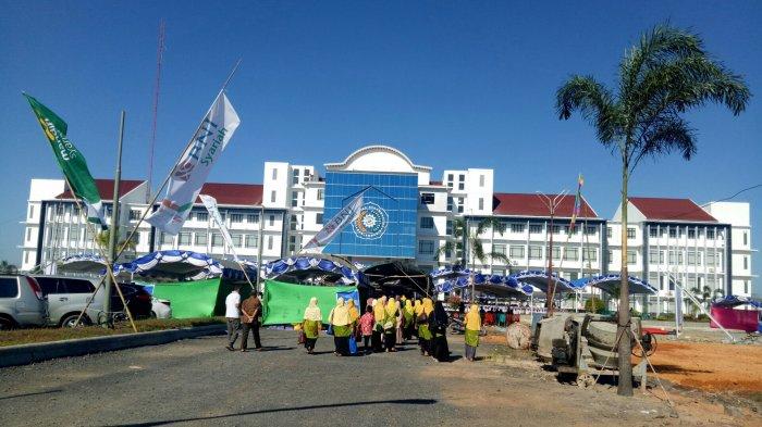 Penampakan Kampus Terapung Universitas Muhammadiyah Banjarmasin, Telan Dana Puluhan Miliar!