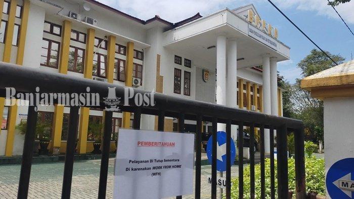 11 Karyawan Terpapar Covid-19, Kantor Pajak Kota Banjarbaru Ditutup