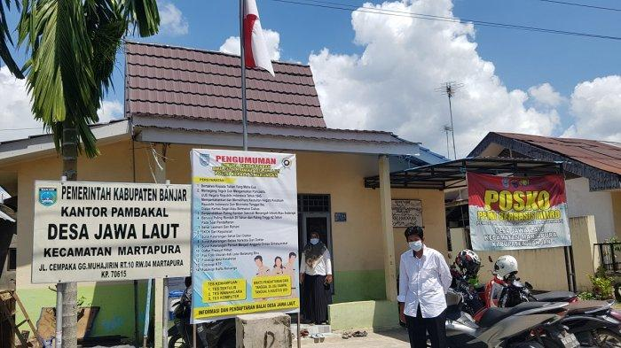 KalselPedia - Pemerintah Desa Jawa Laut Kabupaten Banjar