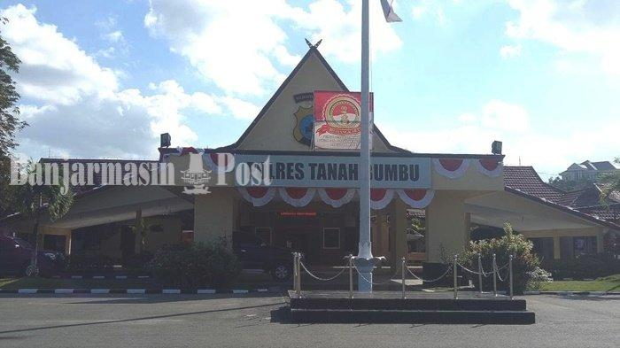 Kantor Polres Tanah Bumbu (Tanbu) di Batulicin, Kalimantan Selatan.