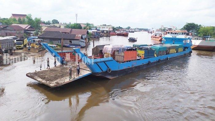 Pemilik Kapal LCT Pengangkut Truk di Banjarmasin Tuntut Wabup Batola Minta Maaf