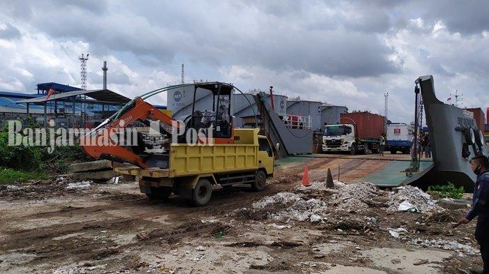Kapal LCT di Pelabuhan Martapura Baru Banjarmasin Terancam Tidak Bisa Beraktivitas Lagi