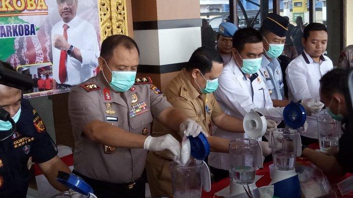 Musnahkan 2,8 Kg Sabu, Ditnarkoba Polda Selamatkan 56 Ribu Orang dari Bahaya Narkoba