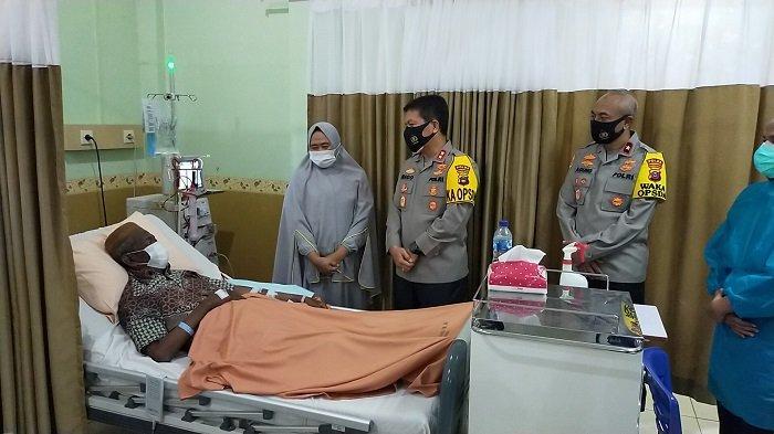 Jenguk Anggota di Rumah Sakit, Kapolda Ungkap Biaya Anggota Yang Sakit Ditanggung Polri
