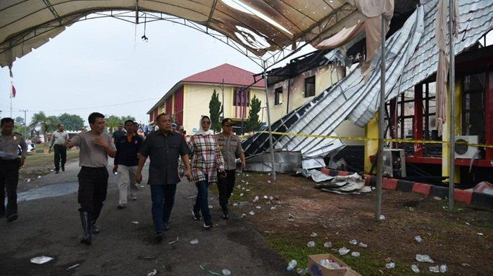 Bunyi Ledakan Kagetkan Undangan, Penyidik Polda Turun Selidiki Asal Api Kebakaran di TK Bhayangkara