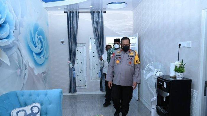 701 Rumah Untuk PPNP di Polda Kalsel Diresmikan, Kinerja Personel Diharap Meningkat