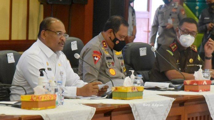 Kepala Kepolisian Daerah Kalimantan Selatan, Irjen Pol Rikwanto, mengatakan, pihaknya siap menjaga keamanan pada pelaksanaan Pemungutan Suara Ulang (PSU) agar aman damai dan lancer, Rabu (2/6/2021).