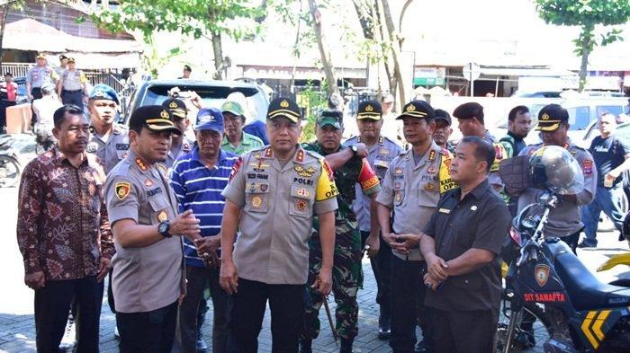 Kapolda Kalsel Pantau Pengamanan KPU dan PPK di Kota Banjarmasin, Ini Tujuannya