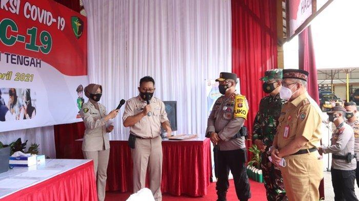 Kapolda Irjen Pol Dedi Prasetyo Berharap GeNose Bisa Percepat Penanganan Covid-19 di Katleng