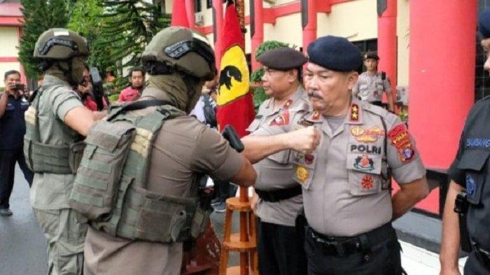 Seratus Brimob Polda Kalteng Turut Amankan Papua, Kapolda Irjen Pol Ilham Sampaikan Pesan Ini