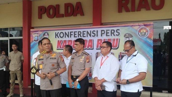 Kapolda Riau Sebut Pelaku Perusak Atribut Partai Demokrat Dijanjikan Dibayar Rp 150 Ribu