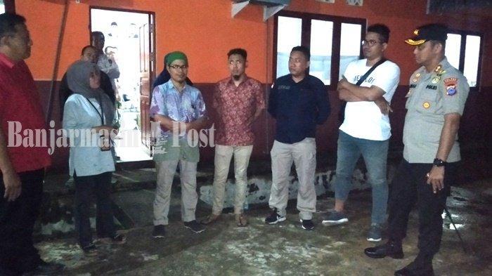 Kapolres Kotabaru AKBP Andi Adnan Syafruddin Kunjungi KPU Antisipasi Perselisihan Paslon