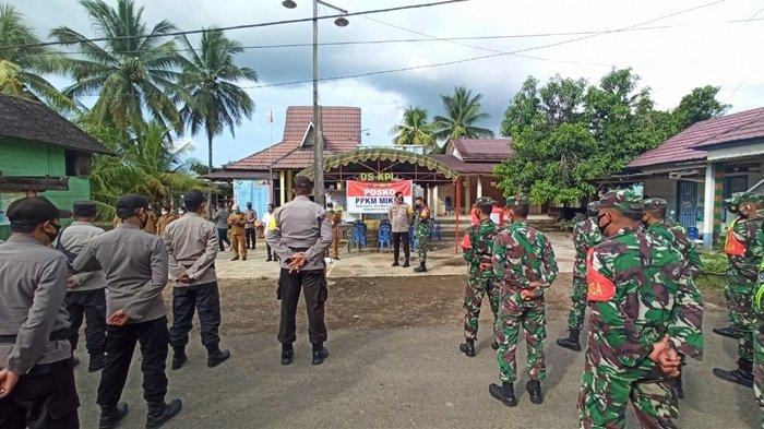 Kasus Positif Covid-19 Meningkat, Satgas Balangan Terapkan PPKM Mikro Tingkat di Desa Ini