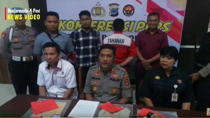 Tersangka Kasus Dugaan Asusila Banyak Berdiam Diri di Sel Mapenaling Lapas Banjarbaru