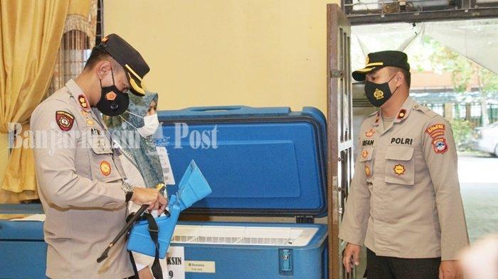 Petugas Lakukan Pengamanan di Gudang Farmasi Dinkes Kabupaten HSU
