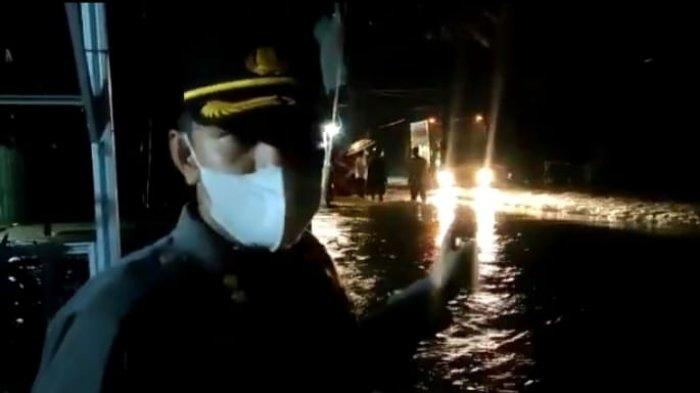 Dihantam  Luapan Sungai Katingan,  Jalur Trans Kalimantan Sampit-Kasongan Terancam Putus