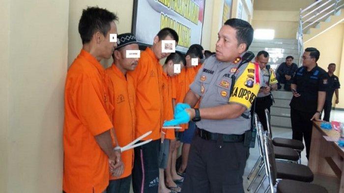 Gerebek Tempat Penjualan Narkoba di Jalan Murjani, Polisi Temukan loket Transaksi Sabu