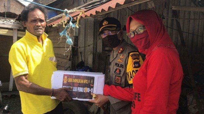Akpol 99 Juga Beri Sembako untuk Warga Terdampak Covid-19 di Kabupaten Tanbu