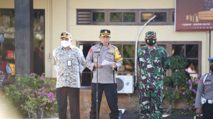 Polresta Banjarmasin dan Tim Gabungan Lakukan Persiapan Amankan PSU Pilwali Kota Banjarmasin