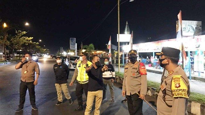 Kapolresta Palangkaraya Tutup Sejumlah Kafe yang Beroperasi di Atas Jam 10 Malam