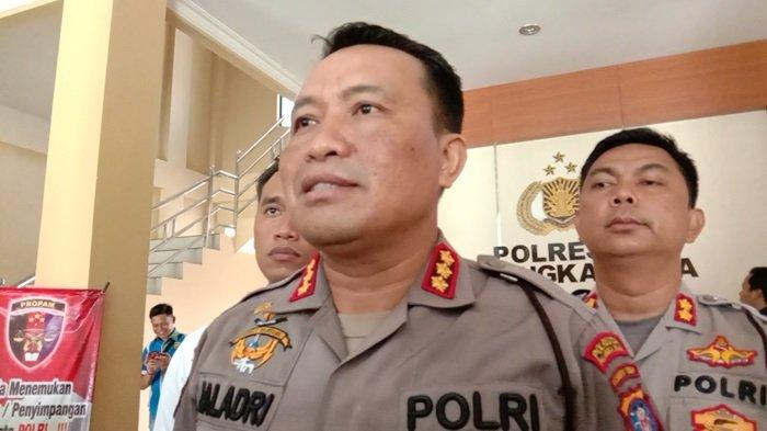 Polisi Bekuk Pembobol Rumah Kosong di Palangkaraya Kalteng Menjarah Brankas Perhiasan Berlian