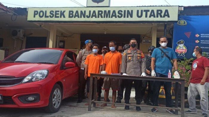 Pencurian di Kalsel, Gasak Mobil di Parkiran Masjid Saat Korban Sedang Shalat