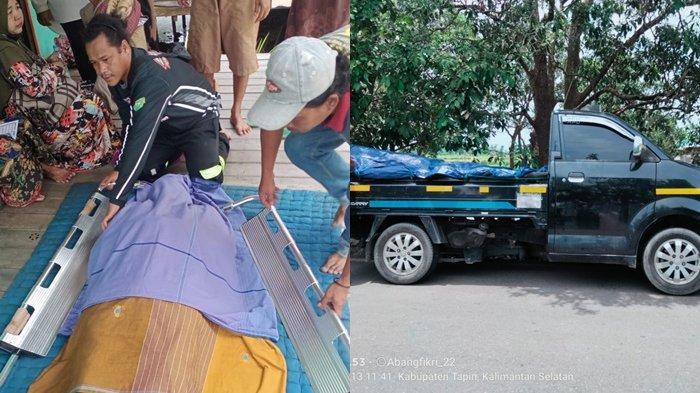 Turun dari Pick Up, Pria Amuntai Ini Berjalan Lemas Lalu Meninggal di Depan Rumah Warga Tapin