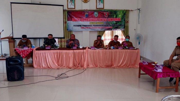 Tim Satgas Karhutla Kecamatan Halong Siap Dibentuk, Antisipasi Ancaman Kebakaran Hutan dan Lahan
