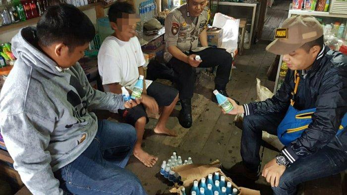 Polsek Mantangai Amankan 44 Botol Alkohol 70 Persen dan 160 Keping Seledryl