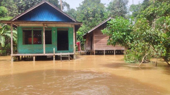 Banjir Kalteng, 3 Ribu Rumah di Enam Kecamatan di Wilayah Hulu Kapuas Terendam