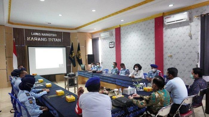 Kapus PPK Balitbang KumHAM Kunjungan Lapas Karang Intan,  Untuk Perkuat IPK dan IKM