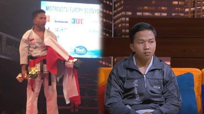 Begini Nasib Fauzan Noor Juara Dunia Karateka Asal Banjarmasin Kini, 'Pulang Ceko Tenggelam Saja'