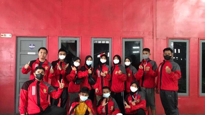 Sukses Raih Emas di Popda Kalsel 2021, Karateka Pelajar HST Semakin Semangat Berlatih