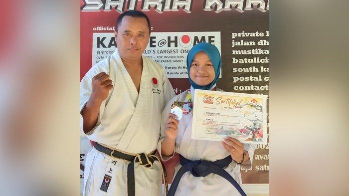 Harumkan Nama Kalsel, Ayah dan Anak Raih Juara Internasional Karate di Iran