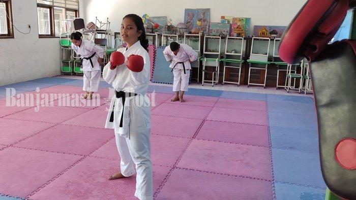 Karateka Tabalong, Rahel Berambisi Raih Medali Emas di Nomor Kumite Popda Kalsel 2021