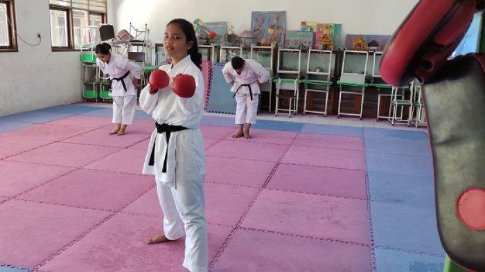 Turun di Nomor Kumite, Karateka Tabalong Ini Berambisi Raih Medali Emas di Popda Kalsel 2021