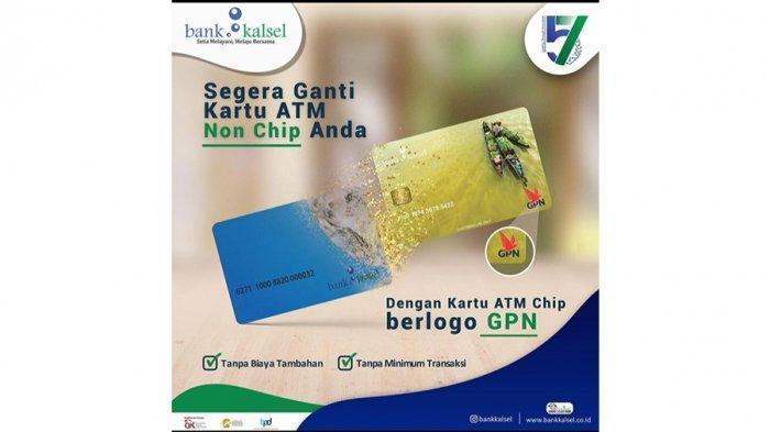 Ganti Kartu Debit Bank Kalsel yang Lama dengan Kartu Baru Berlogo GPN