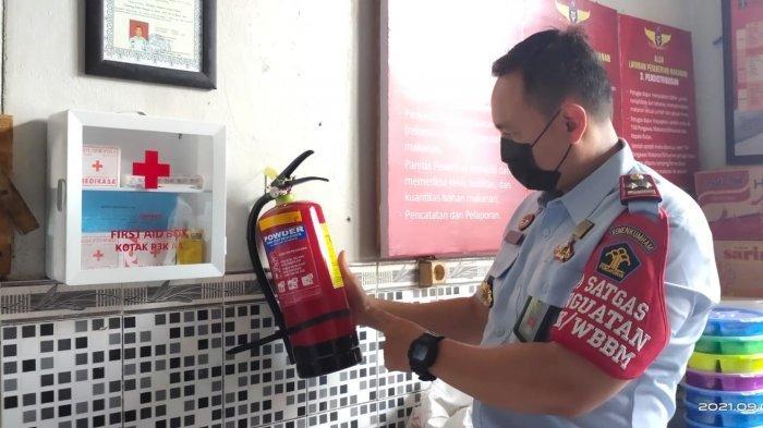 Antisipasi Bahaya Kebakaran, Rutan Tanjung Tabalong Periksa Jaringan Listrik dan Kondisi APAR