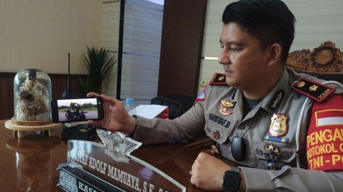 Kasat Lantas Polresta Banjarmasin Bantah Berikan Pengawalan Rombongan Moge saat di Jembatan Alalak