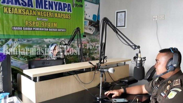 Kejaksaan Negeri Kapuas Kalteng Kembali Mengudara dengan Program Jaksa Menyapa