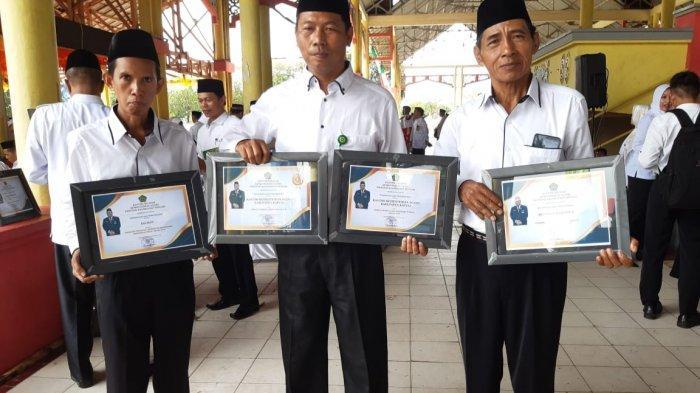 Kado Istimewa bagi Kemenag Kapuas di HAB ke 74, Raih Empat Kanwil Award