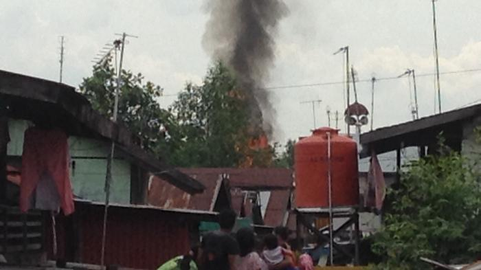 BREAKING NEWS: Api Berkobar di Antasan Raden Teluk Tiram Banjarmasin Barat