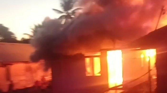 Kebakaran Kalsel, Terjadi di Anjir Muara Kabupaten Batola Saat Warga Berbuka Puasa