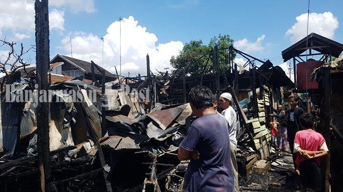 Kebakaran Kalsel, Kisah Pilu Korban di Desa Mekar Kabupaten Banjar