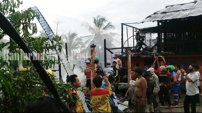 5 Motor dan 1 Mobil Turut Terbakar di Pematang Panjang Kabupaten Banjar